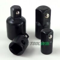 """4 pc. 3/8"""" to 1/4"""" 1/2 inch Drive Socket Adapter Reducer Air Impact Set"""