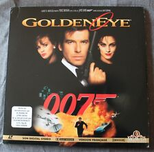 James Bond 007 - Goldeneye, Double Laser disc video
