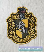 Harry Potter Hufflepuff Embroidered Sew/Iron On Patch Badge