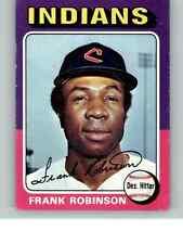 1975 Topps #580 Cleveland Indians Frank Robinson HOF! VG+ No Reserve!