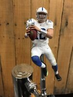 Andrew Luck TAP HANDLE Indianapolis Colts Beer Keg NFL Football White Jersey