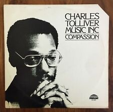 "CHARLES TOLLIVER ""Compassion"" spiritual jazz LP STRATA-EAST orig '80 ~ NICE!"
