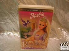 Barbie As Rapunzel VHS Large Case