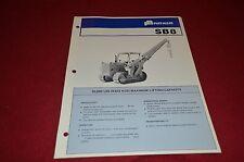 Fiat Allis Chalmers SB8 Pipe Layer Dealer's Brochure DCPA2