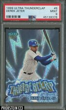 1999 Fleer Ultra Thunderclap Derek Jeter New York Yankees PSA 9 MINT