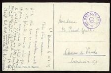 SWITZERLAND • 1929 • Military Postmark • GR. CAN. LDS. AUTO / 9