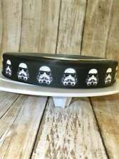 "7/8"" storm trooper grosgrain ribbon/grosgrain ribbon/storm trooper/star wars"
