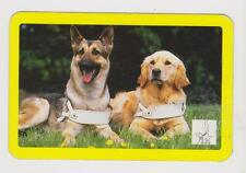 GUIDE DOGS-EYES FOR THE BLIND X 1  ONLY SGL,.VINT.PLAYING/SWAPCARD