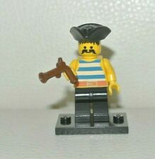 personnage figurine minifig LEGO pirate chess set 852751 pi131 green