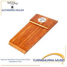 Wild Dog Stomp Box Dingo Australian Made Timber Wooden Bass Stompbox