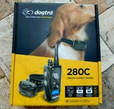 🌟🎈 Dogtra 280C Remote Dog Training Collar 1/2 Mile Rechargeable 1-Dog 🌟