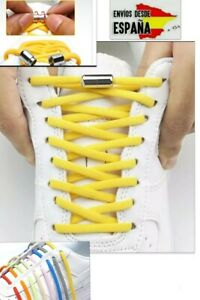 Cordones magnéticos elasticos. Zapatillas Zapatos  Elásticos Adultos y Niños