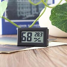 5x Mini Digital LCD Thermometer Hygrometer Luftfeuchte Temperatur incl Batterien