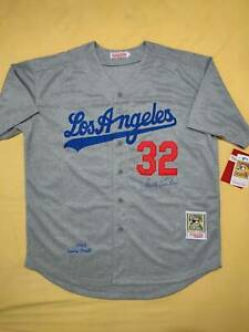 Sandy Koufax signed Los Angeles Dodgers jersey STEINER COA