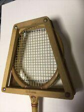 Vintage WILSON Moody Wood Squash Tennis Racquet/Racket