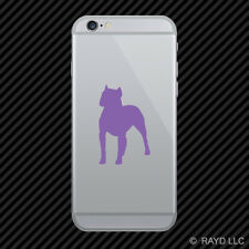 (2x) Pitbull Cell Phone Sticker Mobile dog canine pet many colors
