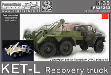 KET-L Recovery Ural truck 1/35 PanzerShop PS35263 Trumpeter conversion resin