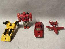 Lot of 4: Hasbro Takara Transformers vintage 1980s Japan