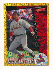 Mark McGwire 1999 Ultimate Victory Parallel 1/1 Missing Serial Number #161