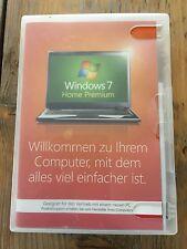 Windows 7 Home Premium, 32 bit mit Holo DVD, Deutsch ,SB Ware mit MwSt Rechnung
