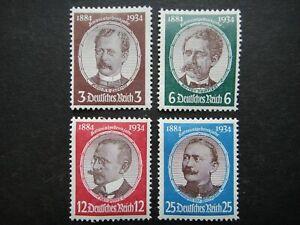 Germany Nazi 1934 Stamps MINT Third Reich Deutschland German
