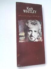 Keith Whitley I WONDER DO YOU THINK OF ME cd 1989 NEW LONGBOX (long box)