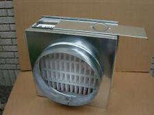 "Hvac.Return air filter rack plenum,collar 18"" diameter,fit filter 20""x 20""x 4"""
