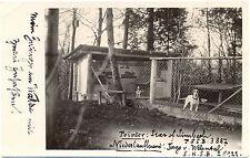 Hunde, Pointer Züchter, Zwinger in der Schweiz, Foto-AK, 1928