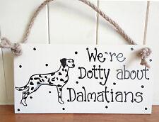 SHABBY CHIC DALMATIANS SPOTTY DOG BIRTHDAY CHRISTMAS FRIEND DOG LOVERS GIFT