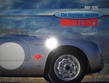 Mecum Monterey Daytime Car Auction Catalog