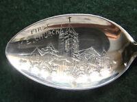 Sterling Souvenir Spoon  Long Beach, CA First M. E. Church 1930's