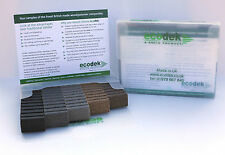 Ecodek Composite Decking Sample Pack (British Made) and £5 VOUCHER