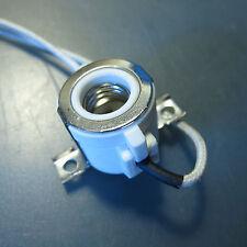 2 X E11 Socket for LED Halogen lamp bulb Lamp Holder Base Ceramic Wire