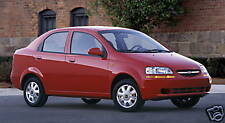 2004 Chevrolet Aveo sedan/hatchback press kit CD