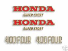 1975 Honda CB400F blue - decal set