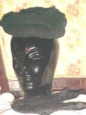 Rare, Antique, Victorian, Civil War Authentic Capot Type Hat Tlc