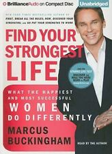 FIND YOUR STRONGEST LIFE unabridged audio book CD by MARCUS BUCKINGHAM Brand New