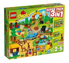 LEGO ® DUPLO ® 66538 Wild Park SUPER PACK 3-in-1 NUOVO _ (= 10584+10582+10581)