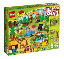 LEGO® DUPLO® 66538 Wildpark Super Pack 3-in-1 NEU _(=10584+10582+10581)