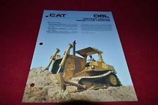 Caterpillar D8L Crawler Tractor Dozer Certified Rebuild Dealers Brochure DCPA8