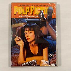Pulp Fiction (DVD 2005 2discs)1994 movie Samuel L. Jackson John Travolta Region4