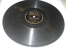 BING CROSBY JOHN SCOTT TROTTER GOLDEN EARINGS / BALLERINA 78 Decca 24278 1947