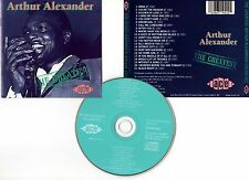 "ARTHUR ALEXANDER ""The Greatest"" (CD) 1989"