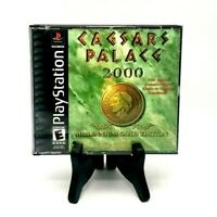 Caesars Palace 2000 Sony PlayStation 1 PSX PS1 Complete w/ Manual