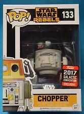 Galactic Convention 2017 Star Wars Rebels Chopper Pop + Pop Protector