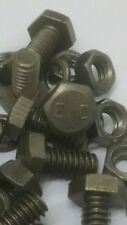 WILLYS MB E.C MARKED 1/4 x 1/2 BOLTS & NUTS (BAG OF 10) JA04.3