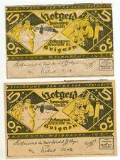 Avignone: WWI. denaro magazzino 2 pezzi