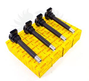 4x NEW OEM BOSCH VW Audi 2.0T CBFA CCTA Ignition Coils 07K905715G 0221604115