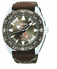 Seiko Prospex Kinetic SUN061 Brown Dial Brown Nylon Band Men's Watch