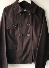 M&S Womens Brown Coat Blazer Size 12 BNWT